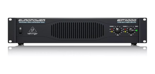 Power Amplificador Behringer Europower Ep4000 + Garantía