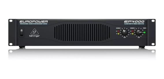 Power Amplificador Europower Behringer Ep4000 + Garantía