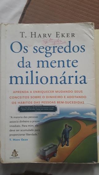 Livro Os Segredos Da Mente Milionária,kit 4livrosdescricao¿