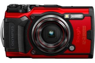 Cámara Olympus Tg-6 Digital Rojo