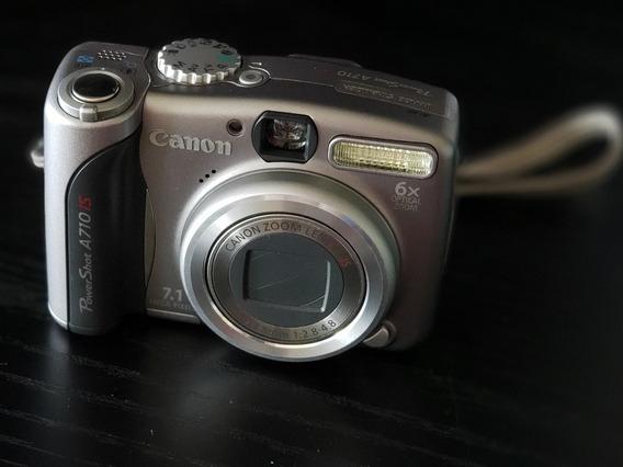 Câmera Canon Power Shot A710 Is 7.1mega Pixels