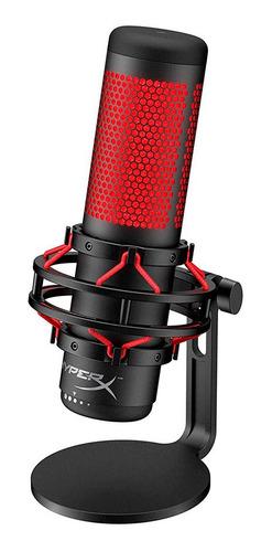 Microfono Gamer Hyperx Condensador Quadcast Pc Ps4