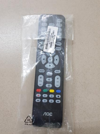 Controle Remoto Tv Aoc Led Lcd Smart Novo Original Lacrado