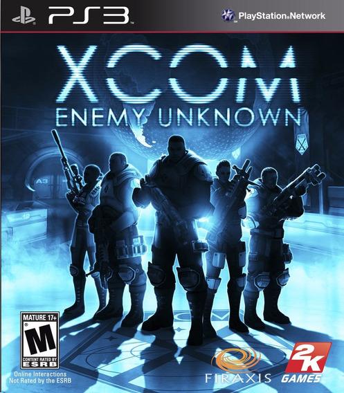 Xcom Enemy Unknown Ps3 Jogo Original Lacrado Mídia Física