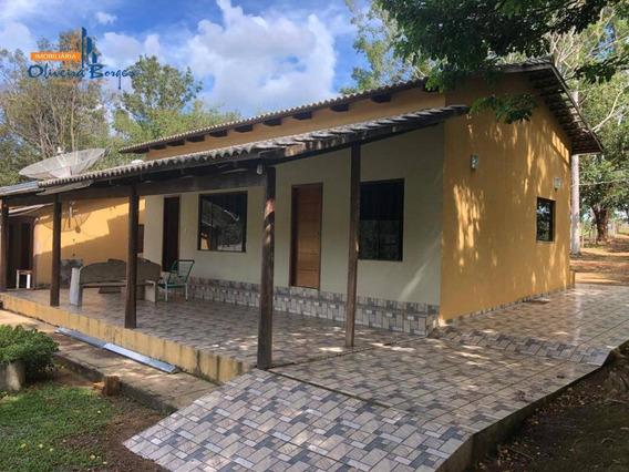 Chácara Com 3 Dormitórios À Venda, 48400 M² Por R$ 750.000,00 - Zona Rural - Abadiânia/go - Ch0024