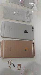 Carcaças Para iPhone 6 Gold E Silver