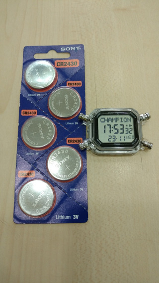 Bateria Sony Para Relógio Champion Yot Cp40180x