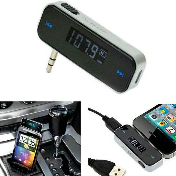 Mini Transmissor Fm P2 10m. P/ Smartphone Tablet Notebook