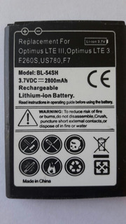 Bateria Alternativa LG Bl-54sh 2800mah Optimus Lte3 G3mini