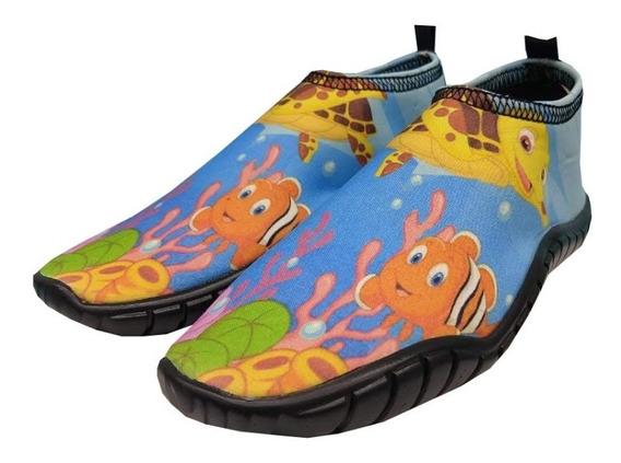 Zapatos Acuáticos Colección Unicornio Vacaciones, Playa