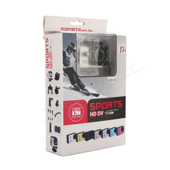 Câmera Sports Hd 1.5 Fhd W.resistant (original)
