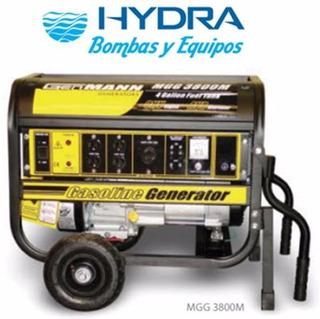 Planta Barnes Portátil Con Motor A Gasolina Modelo Mgg 3800m