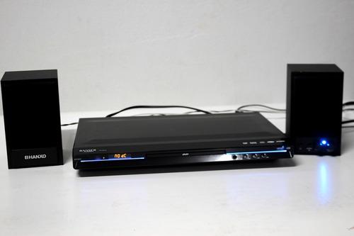 Reproductor Cd Dvd Ranser Parlantes Hanxo Minicomponente