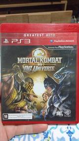 Mortal Kombat Vs Dc - Mídia Física - Ps3