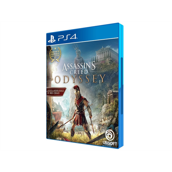 Assassins Creed Odyssey - Ps4 Lacrado