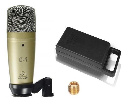 Imagen 1 de 5 de Micrófono D Condensador Behringer C-1 Y Estuche Envío Gratis
