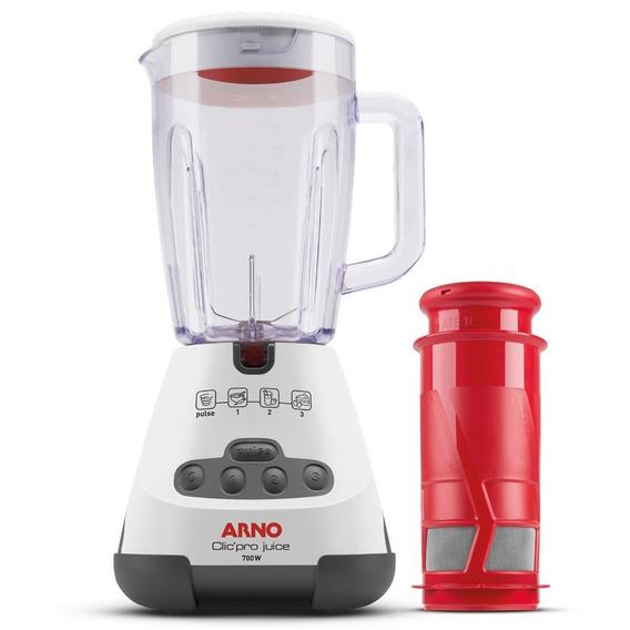 Liquidificador Arno Cliq Pro 3 Vel 700w Ln4j Branco 110v