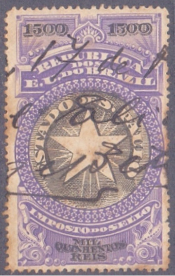 S P - Imposto .do Sello - 1905 - 1500 Reis ----------- 10086