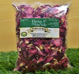 Pétalos De Rosa 10 Grs-hierbas Medicinales Yaromáticas