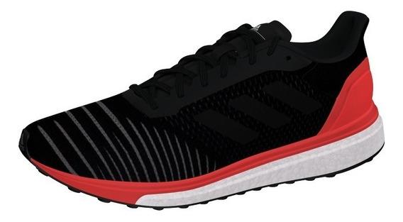 Tenis adidas Solar Drive Black Boost Correr Gym Running