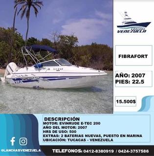 Lancha Fibrafort Lv125