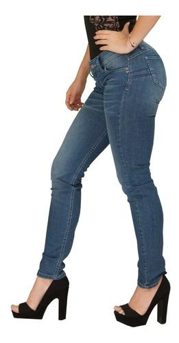 Pantalon Mujer Levanta Gluteos Jeans Tipo Colombianos G025 Mercado Libre