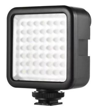 Led Com 49 Pontos De Iluminação P/ Nikon Canon Osmo E Dimmer