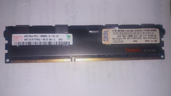 Memoria Servidores Hynix 4gb Pc3 10600 Fru 49y1445