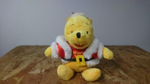 Pelúcia Ursinho Pooh - Papai Noel