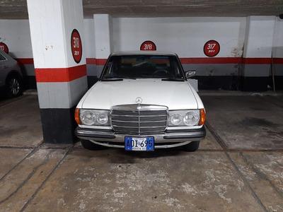 Venta Hermoso Clasico Mercedes Benz 250 Placa Azul