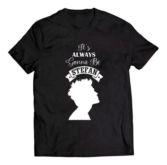 Camiseta The Vampires Diaries Serie Stefan Camisa