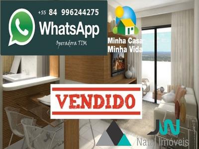 Apartamento Com 2 Quartos Pelo Programa Minha Casa Minha Vida - Nova Parnamiim - Ap00086 - 2754724