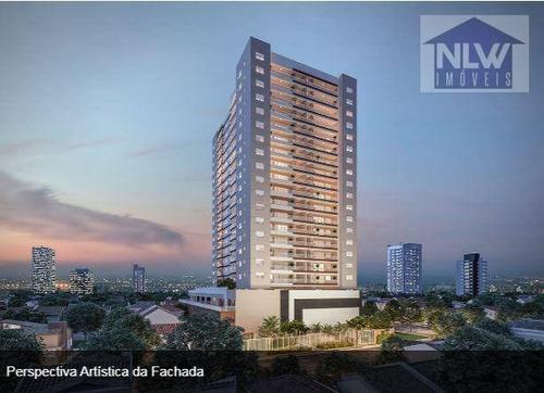 Apartamento Com 3 Dormitórios À Venda, 102 M² Por R$ 976.000,00 - Tatuapé - São Paulo/sp - Ap2349