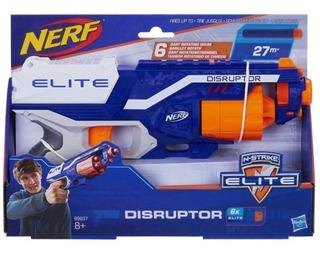 Pistola Nerf Nlite Disruptor Hasbro B9838 + 20 Dardos Zombie