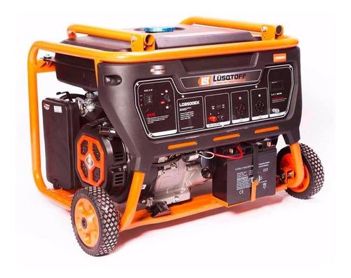 Generador portátil Lusqtoff LG8500EXT 8500W trifásico con tecnología AVR 380V