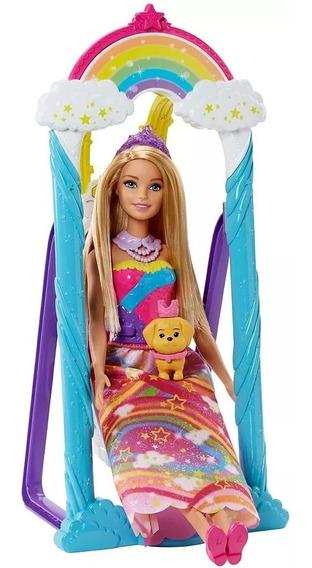 Barbie Dreamtopia Balanço Arco Íris Fjd06 - Mattel