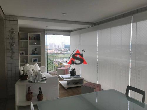 Apartamento Com 3 Dormitórios À Venda, 136 M² Por R$ 1.200.000,00 - Jardim Marajoara - São Paulo/sp - Ap41695