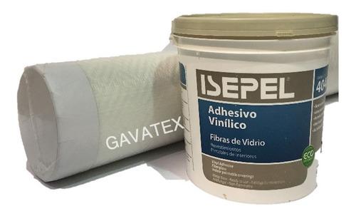Imagen 1 de 10 de Revestimiento Gavatex 15m2+adhesivo 4k Modelo Eleccion