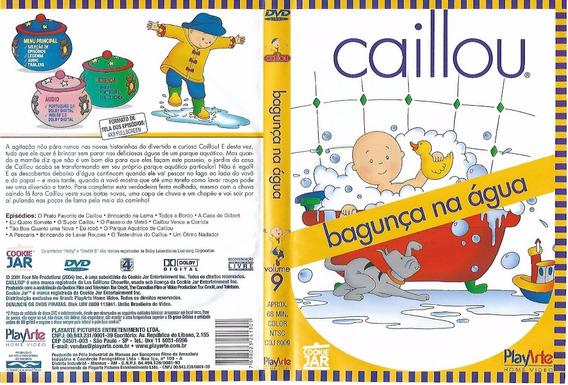 Caillou Bagunça Na Água Dvd ( Original)