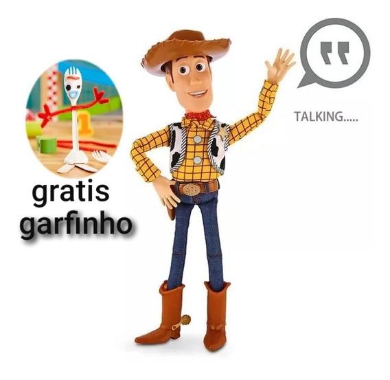 Xerife Woody (fala Em Inglês) (sem Caixa) **grátis Brinde**
