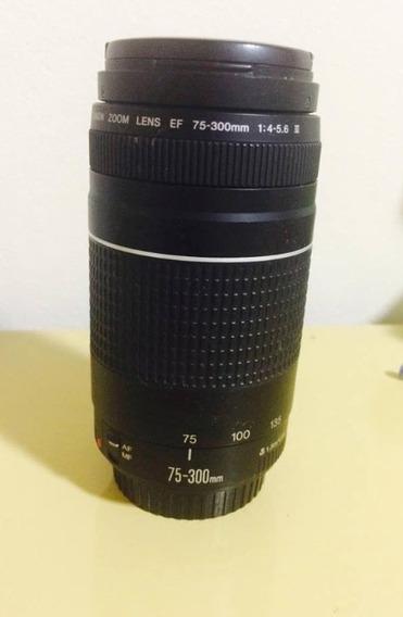 Lente Canon 75 300