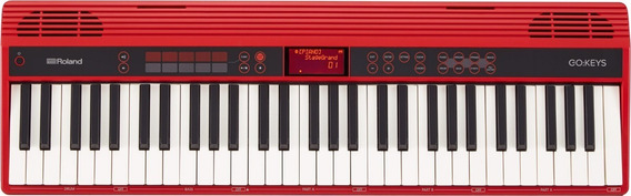 Teclado Roland Go Piano 61 Teclas Digital + Nf E Grtia