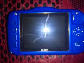Camera Nikon Coolpix S32 Aprova De Agua Sem Caregador