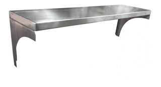 Repisas En Acero Inoxidable De 139.5cm X 27.5cm