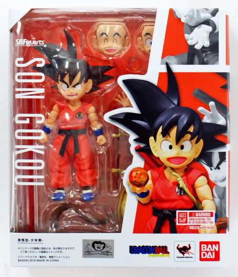 Kid Goku - Son Gokou - S.h. Figuarts Dragon Ball - Bandai