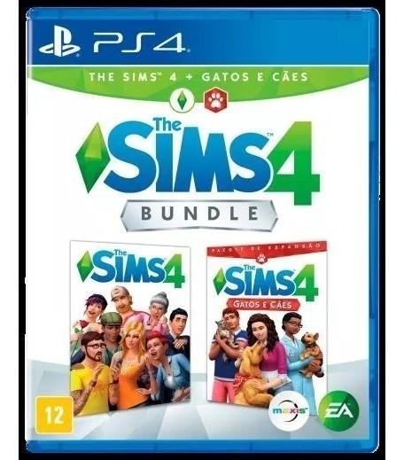 The Sims 4 Bundle Com Cães E Gato Mídia Física Ps4