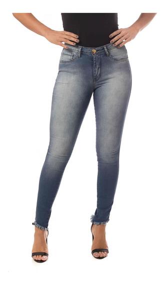Calça Jeans Osmoze Mid Rise Skinny 23054 Un Azul