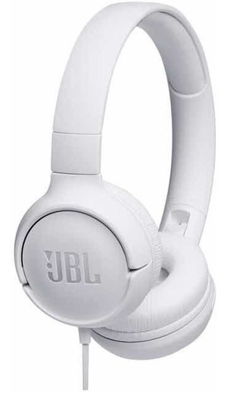 Fone De Ouvido Headphone Jbl T450 Original Pure Bass- Branco