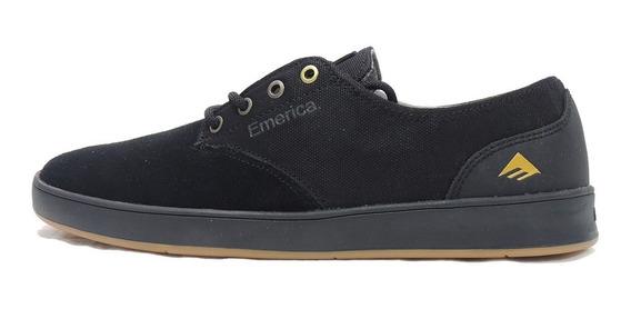 Zapato Emerica The Romero Laced Black Gum Grey