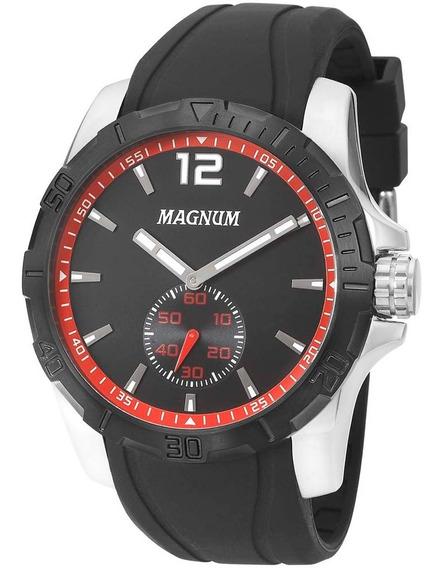 Relógio Masculino Analógico Magnum Ma34905v - Preto